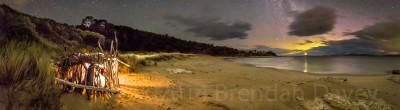 'Stick Hut', Storm Bay, Tasmania.